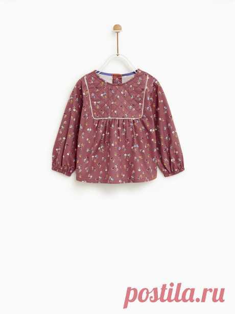 Рубашки для малышей – девочки | Новая коллекция онлайн | ZARA Беларусь