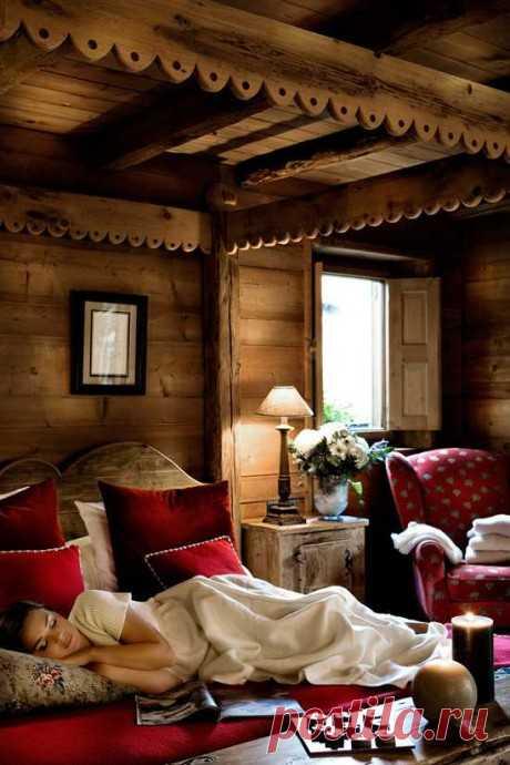 Комплекс уютных шале Les Fermes de Marie в Межеве, Франция