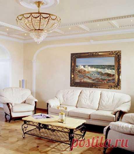 """Картина """" Морской прибой """" размер: 120х75см материал: Холст, масло Рама - натур. дерево Цена 1500$"""