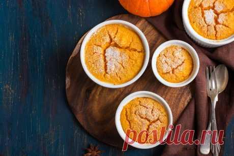 Запеканка из тыквы, рецепты Рецептов запеканки из тыквы множество, ведь она сочетается практически с любыми продуктами. Попробуйте приготовить сладкий и сытный вариант.