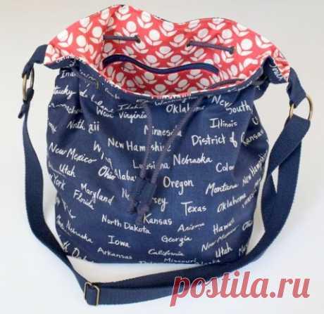 La bolsa-saco de la tela