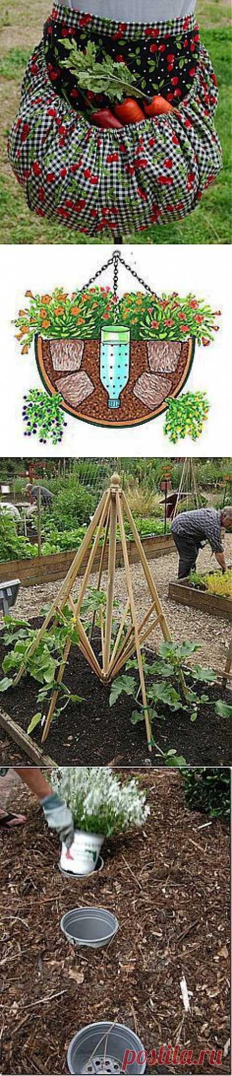 полезные и приятные мелочи в саду | СДЕЛАЙ САМ!