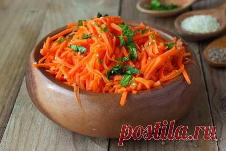 Корейская морковка: самые популярные рецепты! - МирТесен
