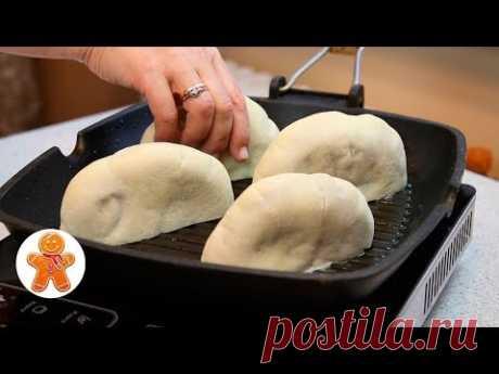 Лепешки с Мясом на Скорую Руку + Простой Рецепт Вкусной Питы