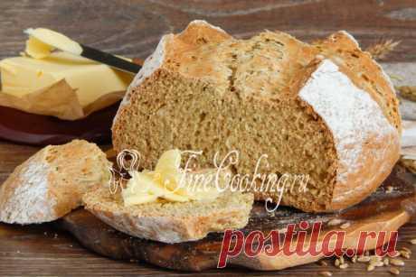 Ирландский содовый хлеб Сегодня печем ирландский содовый хлеб - очень простой и быстрый рецепт, но от этого не менее интересный и вкусный результат.