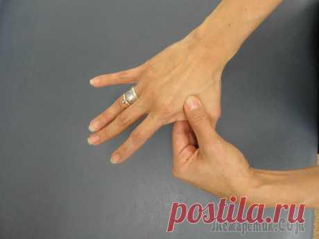 How to restore health influencing fingers of hands