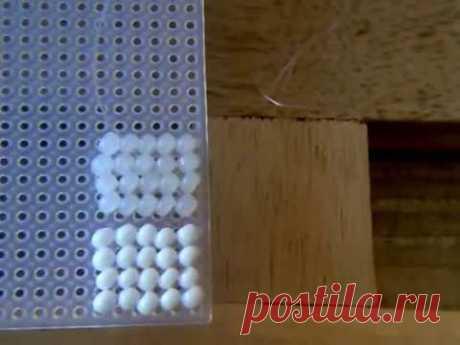Столешница или бисером по пластиковой канве. Подготовка.