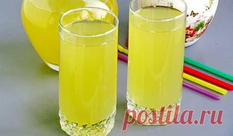 Домашний имбирный лимонад Тонизирующий и бодрящий напиток