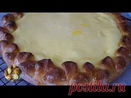 ПИРОГ СМЕТАННИК заливной/Sour cream pie