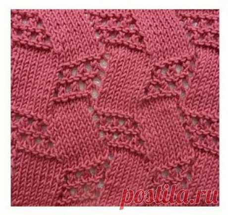 Красивые рельефные узоры спицами. Схемы  1  Эти узоры подходят для вязания женщинам, мужчинам и детям   2    3