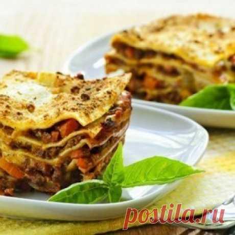 Лазанья с курицей и шампиньонами рецепт – итальянская кухня: паста и пицца