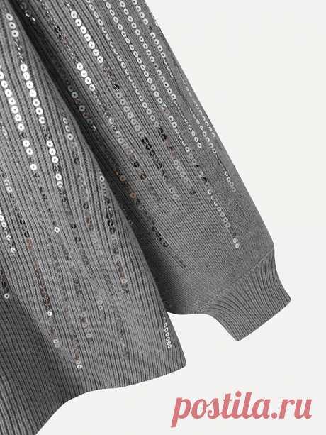 Модный повседневный женский свитер с круглым вырезом и круглым вырезом в стиле пэчворк YCOSIC - NewChic