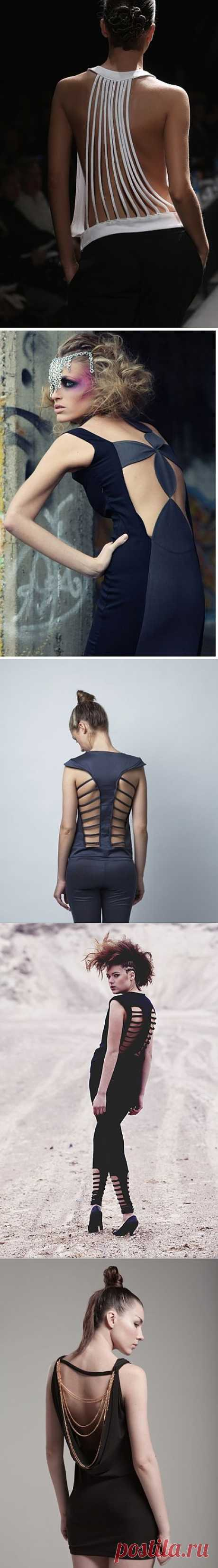 Идеи для декора / Декор спины / Модный сайт о стильной переделке одежды и интерьера