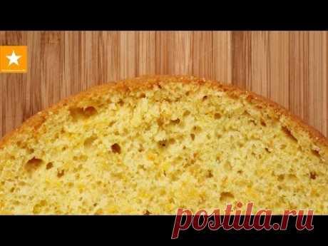 El bizcocho ideal de Marmeladnoy del Zorro. La receta sin huevos. EGGLESS SPONGE CAKE
