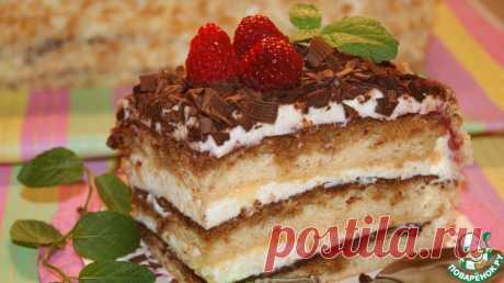 Швейцарский торт - очень нежный, влажный, ароматный и безумно вкусный!