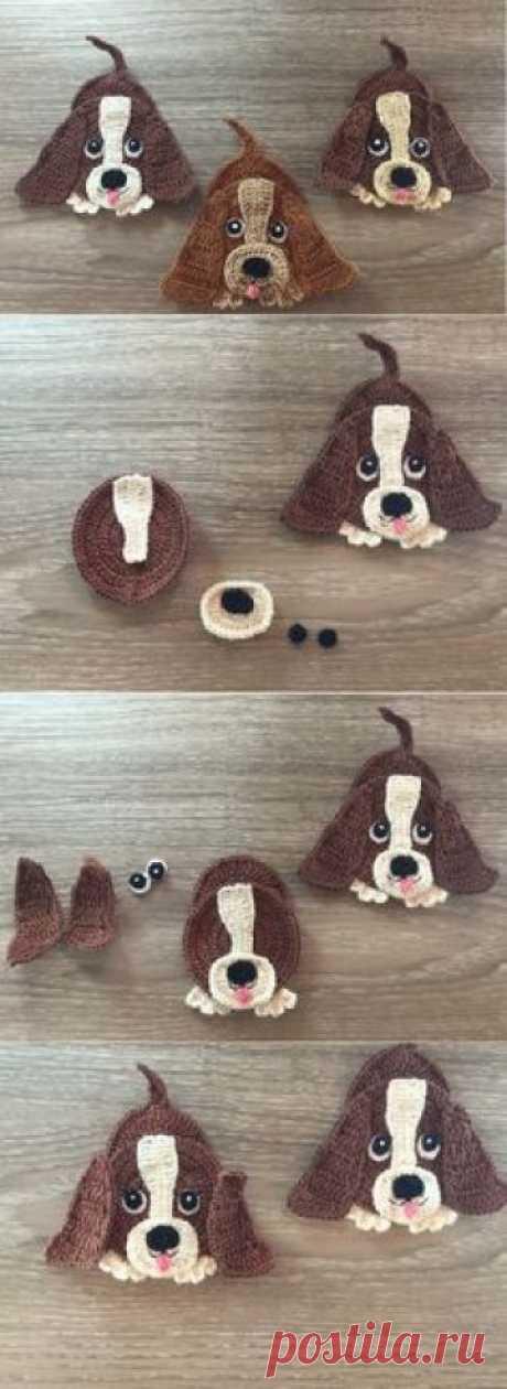 Basset Hound Dog Crochet