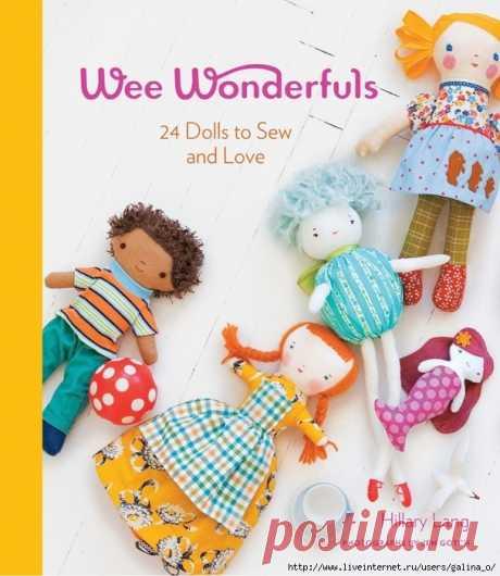 24 куклы шить и любить. Хиллари Ланг.
