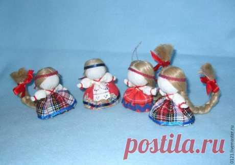 Создаем куколку «На счастье» в традиционной текстильной народной технике