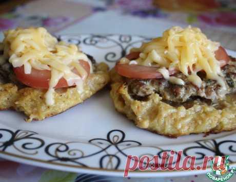 Ленивый драник-бургер – кулинарный рецепт