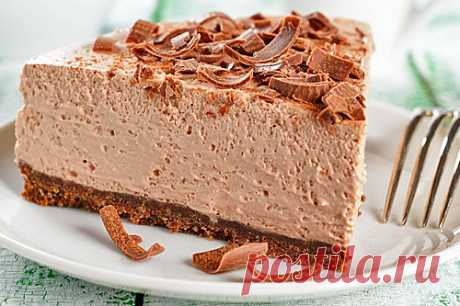 Фантастический шоколадный торт-суфле без выпечки | Вкусняшки | Яндекс Дзен