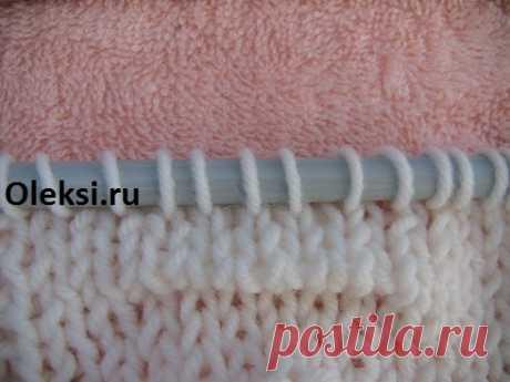 Эффект клоке спицами (мк, видео) : Вязание на oleksi.ru