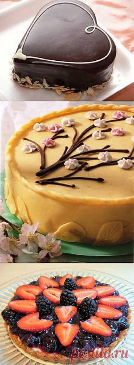 Учимся оформлять торты!.