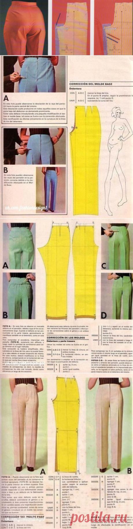 Устраняем дефекты брюк - просто