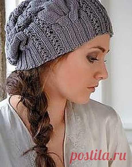 Шапка спицами / Вязание для женщин спицами. Схемы / PassionForum - мастер-классы по рукоделию