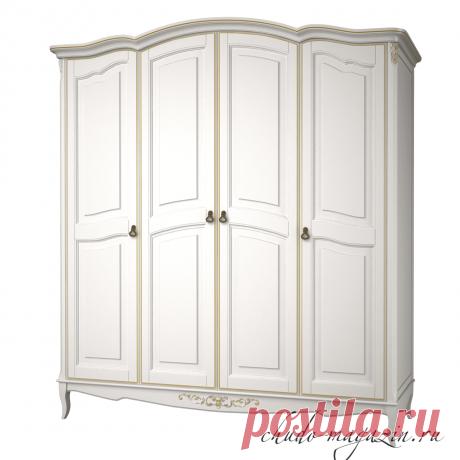Классический распашной шкаф 4-х дверный