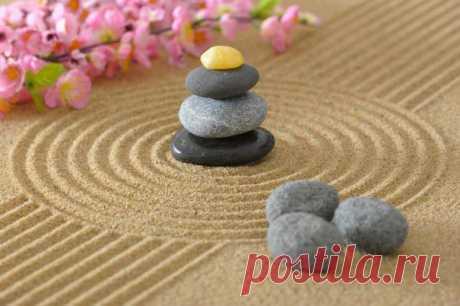 Как сделать японский сад камней для медитации на вашем столе | Лайфхакер