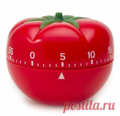 Техника Помодоро (Pomodoro) - чем хорошо иметь таймер-помидорку