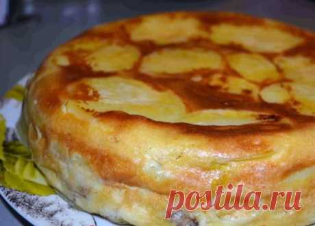 Овощной пирог на соде