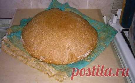 Бездрожжевой хлеб на яблочной закваске с нуля - пошаговый рецепт