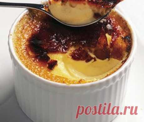 Крем-брюле рецепт с фото, калорийность блюда