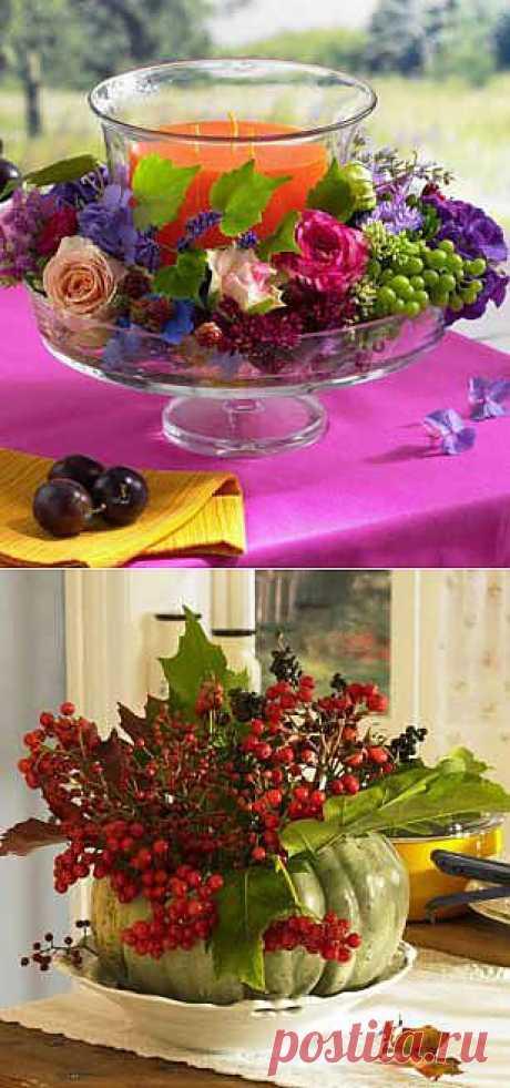 Осенние декоративные идеи своими руками: ягодная тема