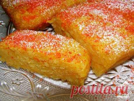 Быстрый сладкий пирог на кефире с тыквой - кулинарный рецепт с фото на Повар.ру