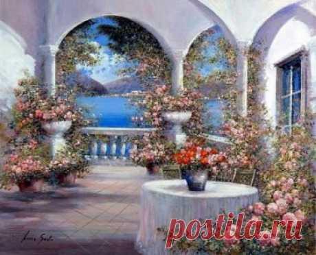 ..Картины, которые благоухают... ..Картины, которые создают Настроение..                               Художник Люсия Сарто