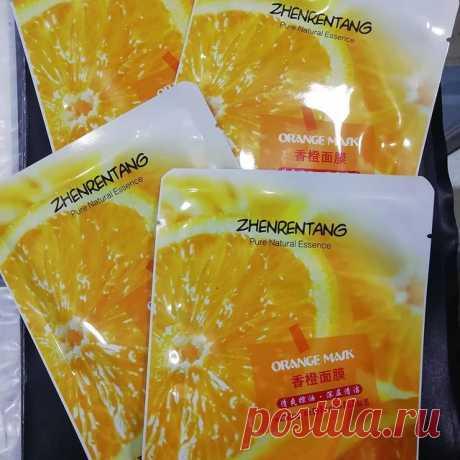 ТКАНЕВАЯ  МАСКА  С  АПЕЛЬСИНОМ  обогащена экстрактом апельсина и витамина С, предотвращает процессы старения, удаляет загрязнения и старые клетки эпидермиса, осветляет пигментные пятна, кожа выглядит ярче и имеет более ровный тон. Витамин С восстанавливает повреждённую солнцем кожу, повышает её эластичность и чистоту. Эффект от маски : - ОСВЕТЛЯЮЩИЙ  - ОМОЛАЖИВАЮЩИЙ - УКРЕПЛЯЮЩИЙ. СПОСОБ ПРИМЕНЕНИЯ : 1. Очистите кожу лица и высушите. 2. Разверните и наденьте маску на лицо....