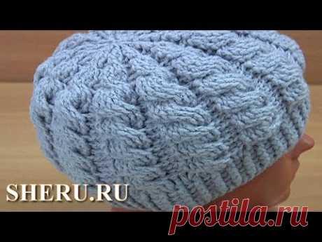 Для вязания этой шапки крючком понадобится 130-150 г пряжи: 49% шерсть, 51% акрил, 240 м в 100 г. Крючок 4,0-4,5 мм. Шапочка подойдет на объём головы 52-54 с...