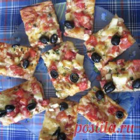 Быстрая пицца на хлебе. Простая идея — вкусное блюдо. Видео