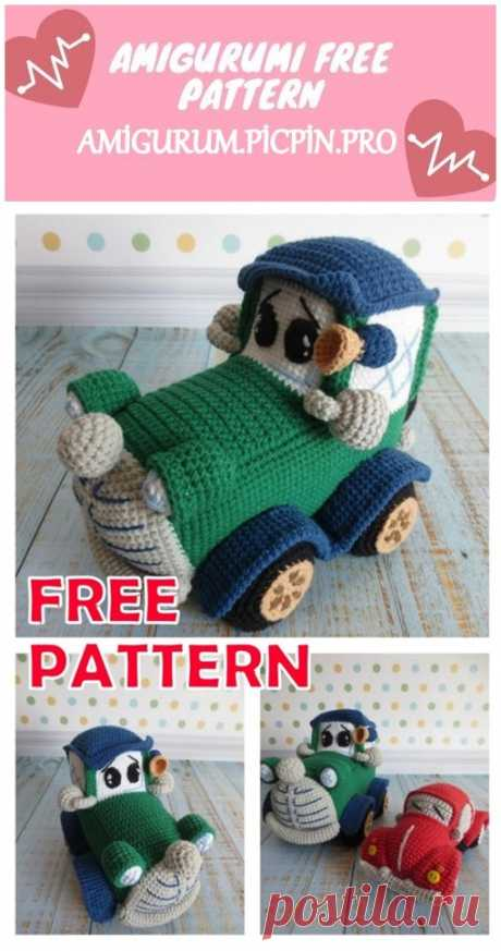 We continue to provide you with the latest recipes related to Amigurumi. Amigurumi classic car free crochet pattern is waiting for you.