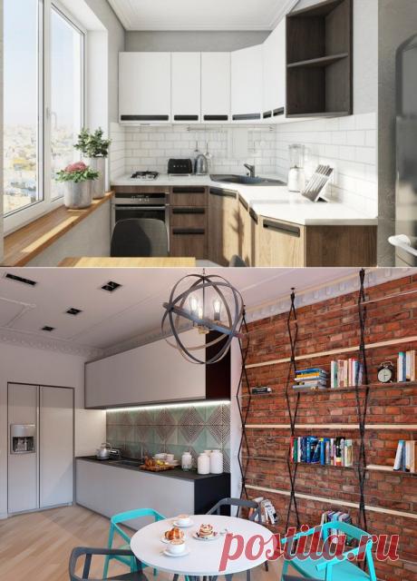 Как улучшить неудобную и тесную кухню: советы профи | Свежие идеи дизайна интерьеров, декора, архитектуры на INMYROOM