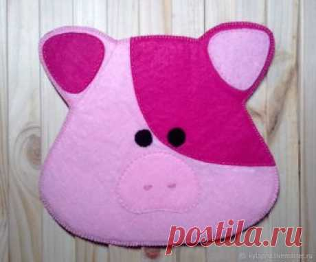 Шьем прихватку свинку – Ярмарка Мастеров