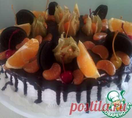 Глазурь для подтёков на торте - кулинарный рецепт