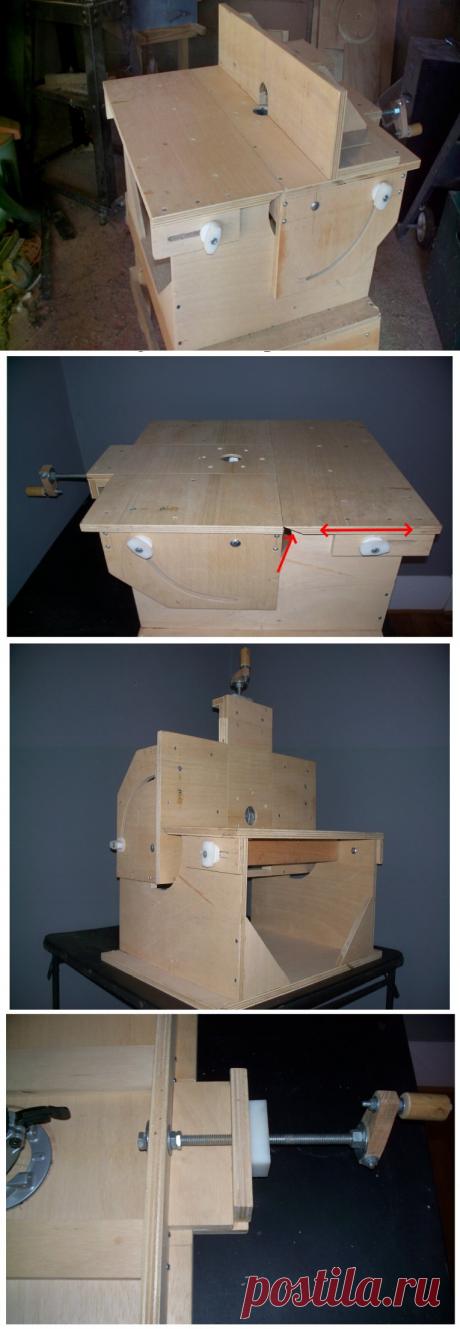 Лучший самодельный фрезерный стол, который я нашел в интернете и сделал | СДЕЛАЙ МЕБЕЛЬ САМ | Яндекс Дзен
