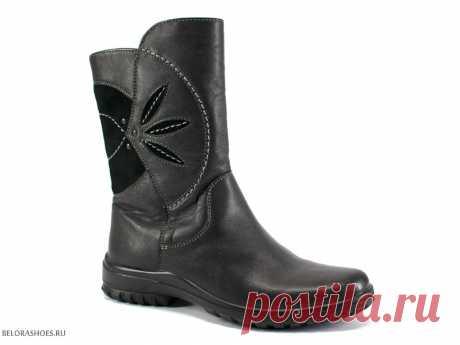 Сапожки школьные Марко 6904 - детская обувь, обувь для девочек, сапоги. Купить обувь Marko