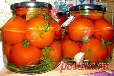 Помидоры в загадочном маринаде Невероятно вкусные помидоры в загадочном маринаде, съедаются на раз два. Вкус получается необыкновенный, рассол пьется как приятный напиток. Несмотря на наличие уксуса, он совсем не ощущается. Ингредиенты в...