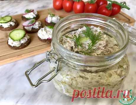 Паштет из запеченной скумбрии – кулинарный рецепт