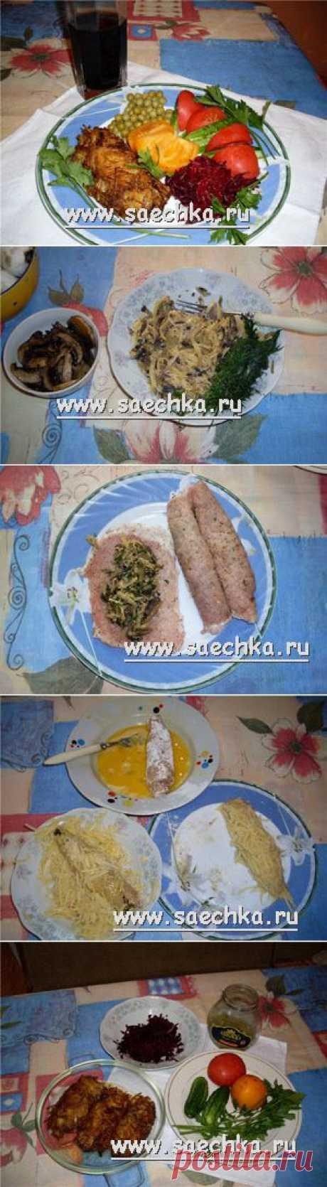 Котлета гомельская | рецепты на Saechka.Ru
