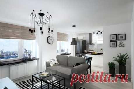 Квартира-студия 33 кв.м: функциональный и практичный интерьер - Дизайн интерьеров | Идеи вашего дома | Lodgers
